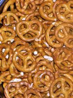 pretzels @ Book Cave - content-rated books