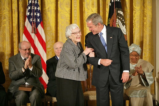 Harper Lee medal, author of To Kill a Mockingbird