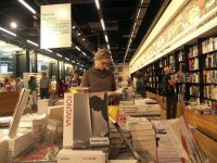 Looking for a valentine day book at the store @ Book Cave - content-rated books