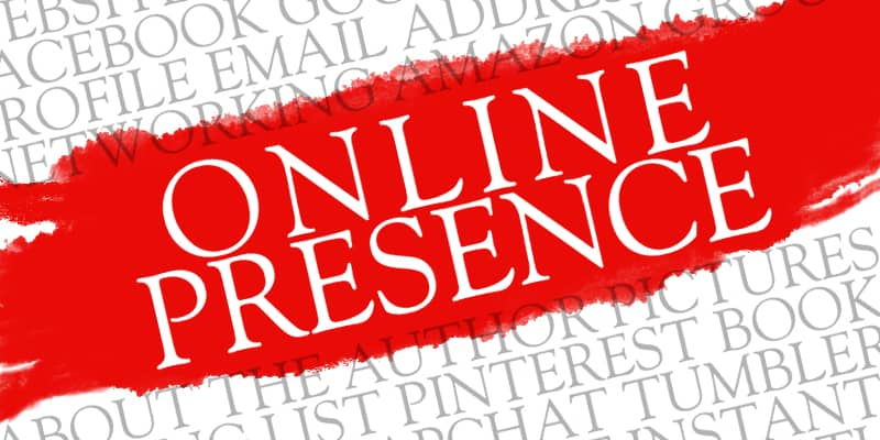 Online presence helps sell books