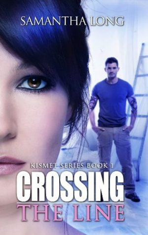 Cover for Crossing the Line