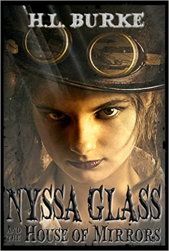 Cover for Nyssa Glass and the House of Mirrors