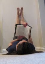 places to read a book while stretching @ Book Cave - content-rated books