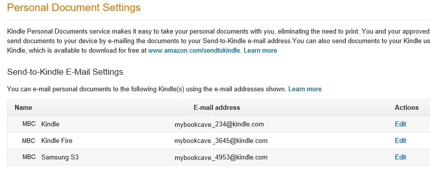 Where to Download Ebooks for Your Ereader - Amazon device list