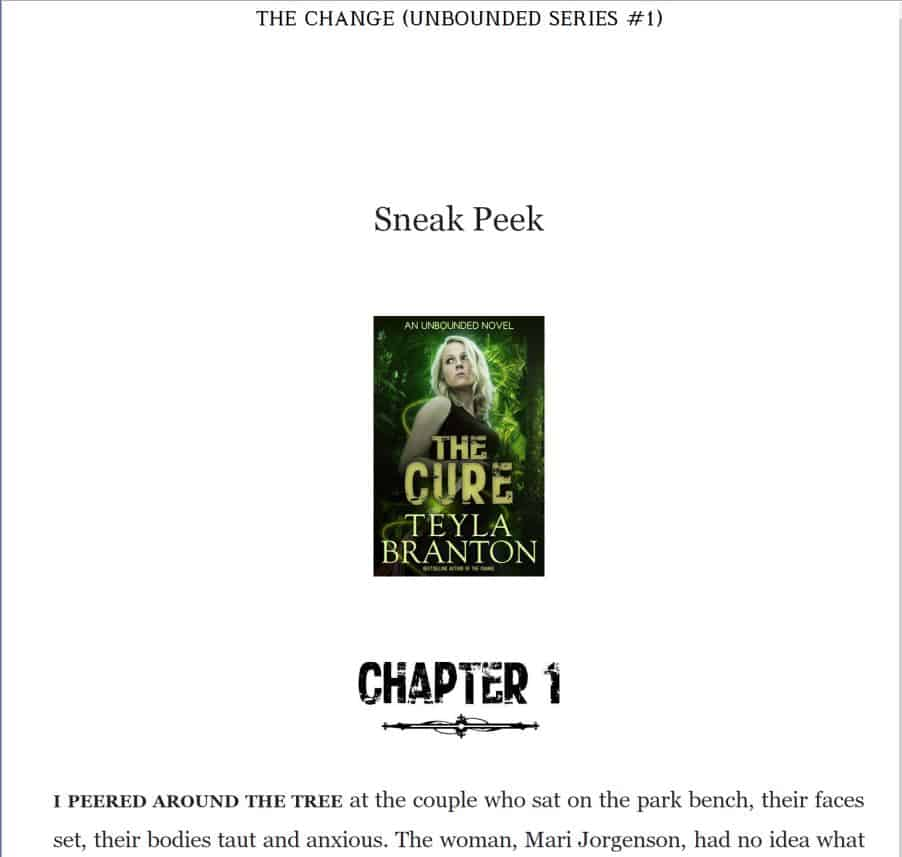 Image Size for Ebook – The Cure thumbnail