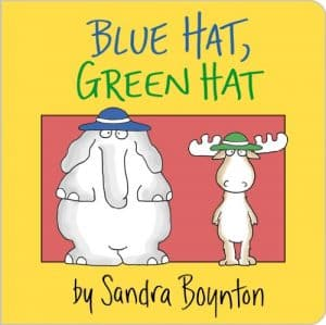 Cover for Blue Hat, Green Hat