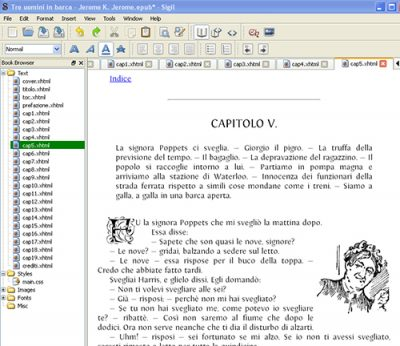 Sigil ebook software @ Book Cave - content-rated books