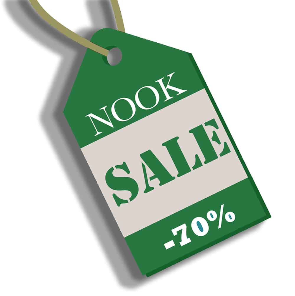 discount your ebook on Barnes & Noble