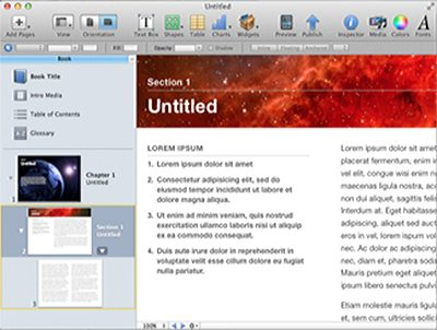 iBooks Author ebook software @ Book Cave - content-rated books