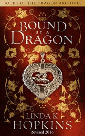 Cover for Bound by a Dragon