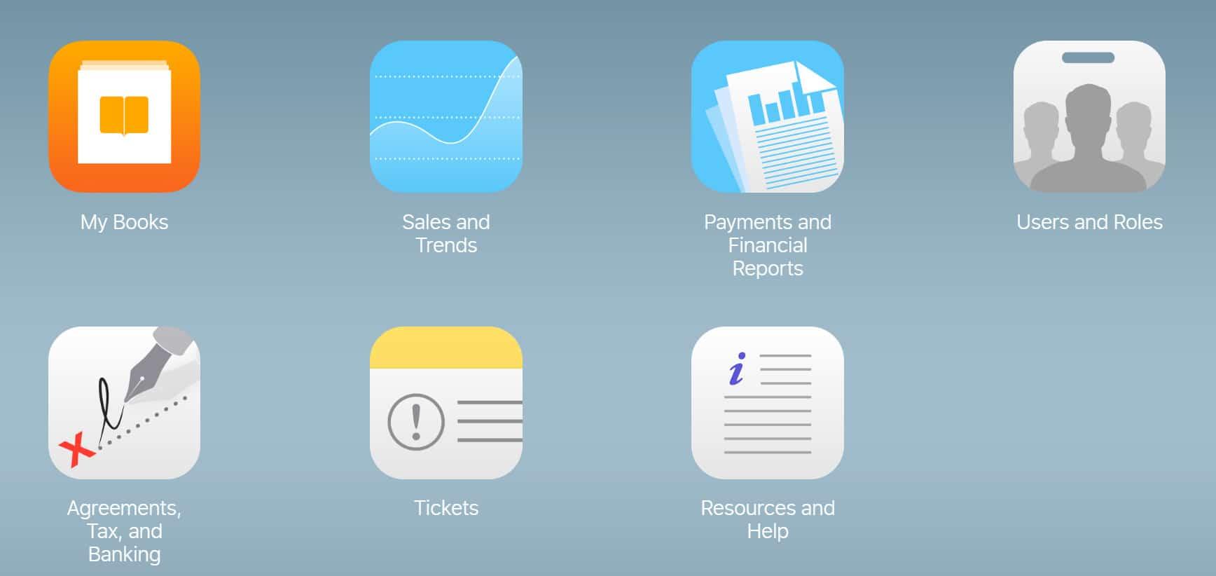 Discount your ebook on iTunes - iTunes dasboard