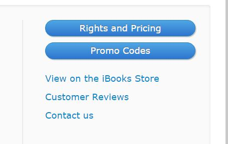 Discount your ebook on iTunes - book options