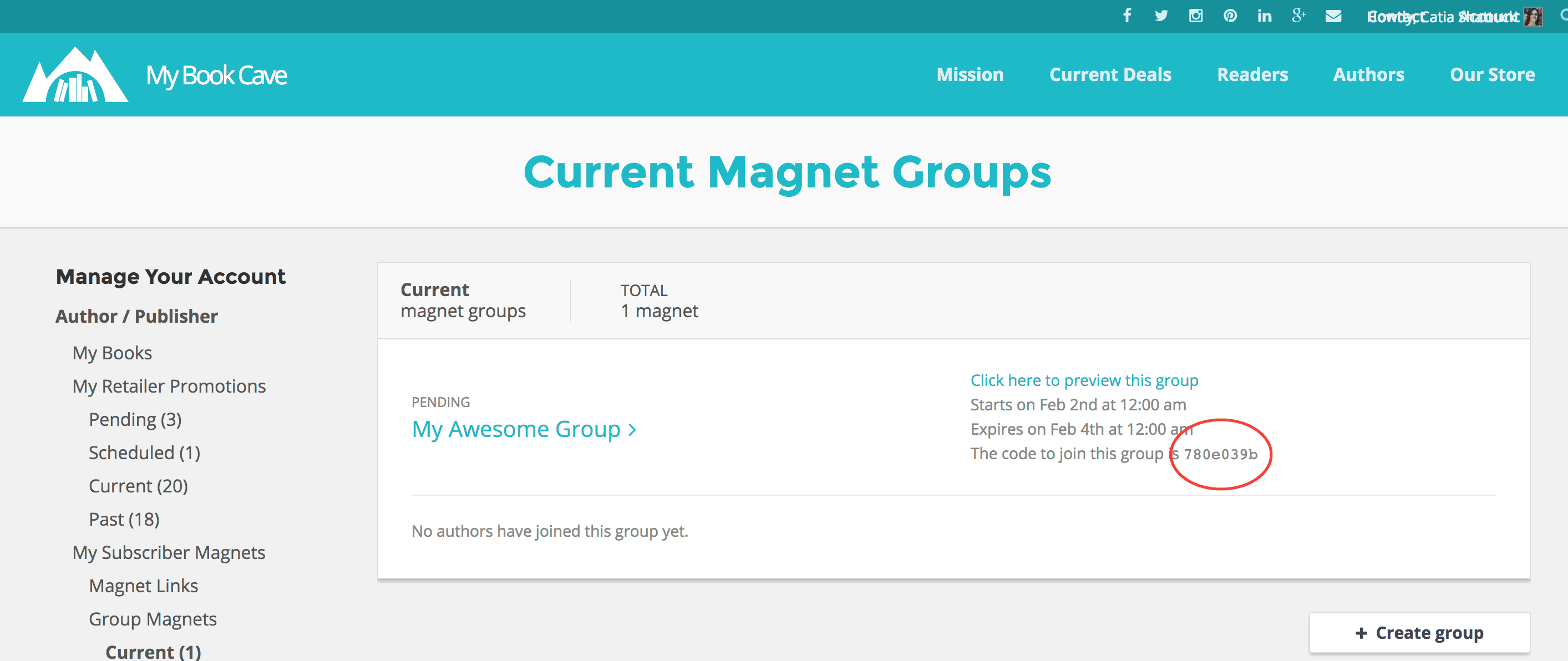 current group3
