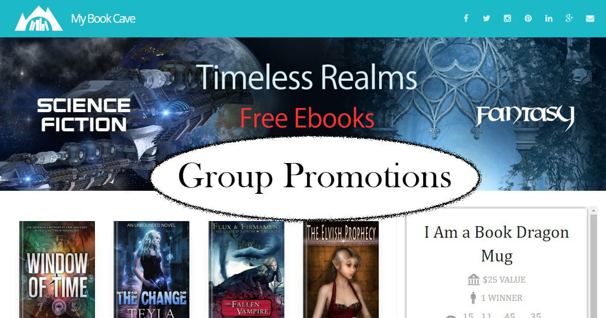 Book Cave group promotions
