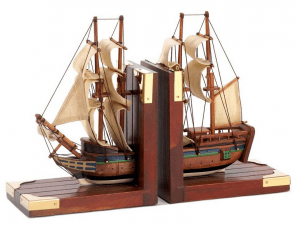 ship bookend