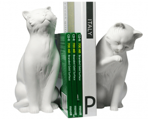 Cats bookends