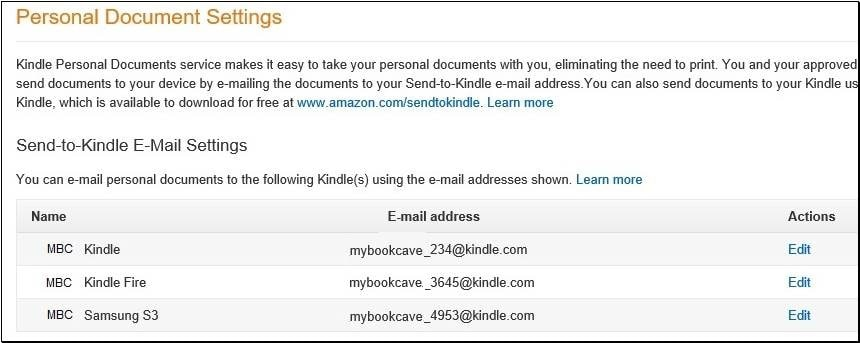 Magnet FAQ - Send-to-Kindle email address for your free ebook
