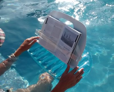 Inflatable, Floating Bath Caddy