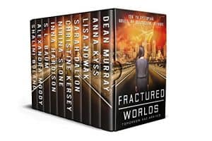 Cover for Fractured Worlds: Ten YA Dystopian Novels