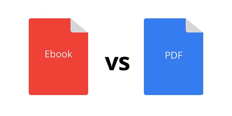 ebook vs pdf and fixed-layout ebooks