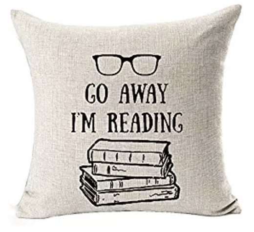 Reading Pillow - book lovers product
