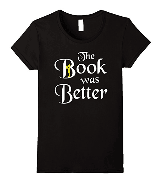 book was better - book lovers product