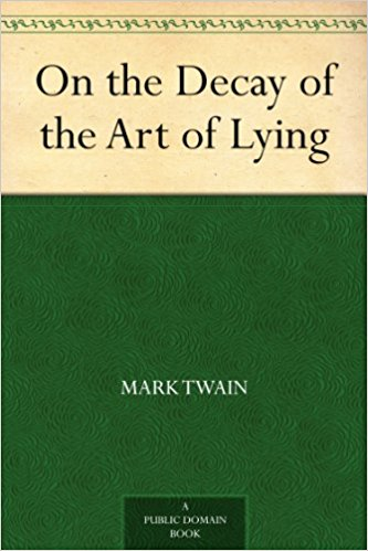 on the decay of lying How can the answer be improved.