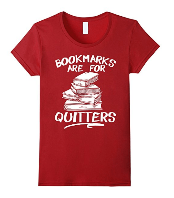 quitters - book lovers product