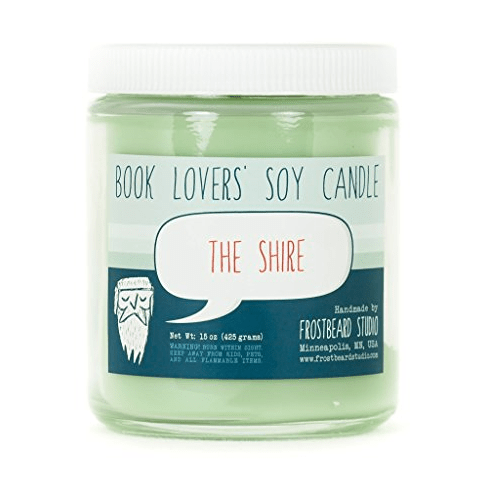 shire candle - book lovers product