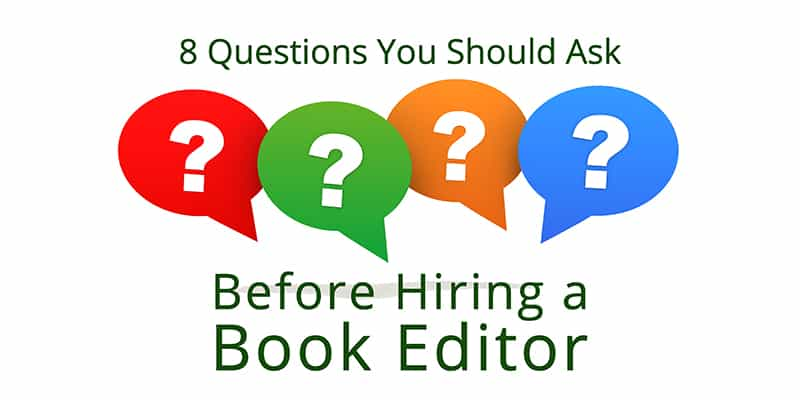 questions to ask a book editor
