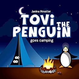 Cover for Tovi the Penguin Goes Camping