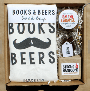 a beer and books gift basket is one of the Best Valentine's Day Gifts for Book Lovers in 2018