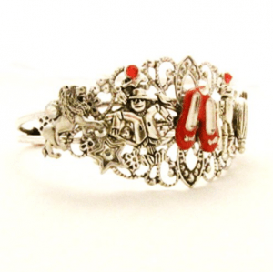 a Wizard of Oz steampunk bracelet is one of the Best Valentine's Day Gifts for Book Lovers in 2018