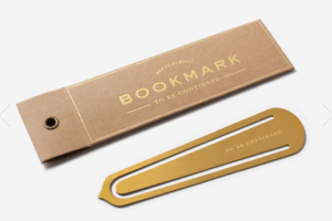 a book mark is one of the Best Valentine's Day Gifts for Book Lovers in 2018