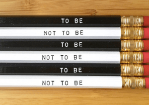 Shakespeare pencil set is one of the Best Valentine's Day Gifts for Book Lovers in 2018