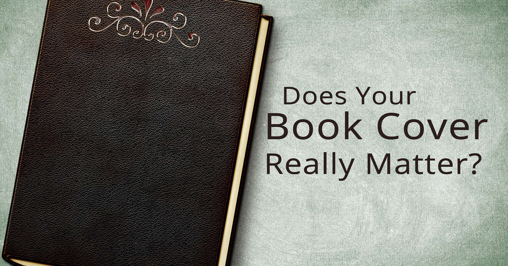 does your book cover matter