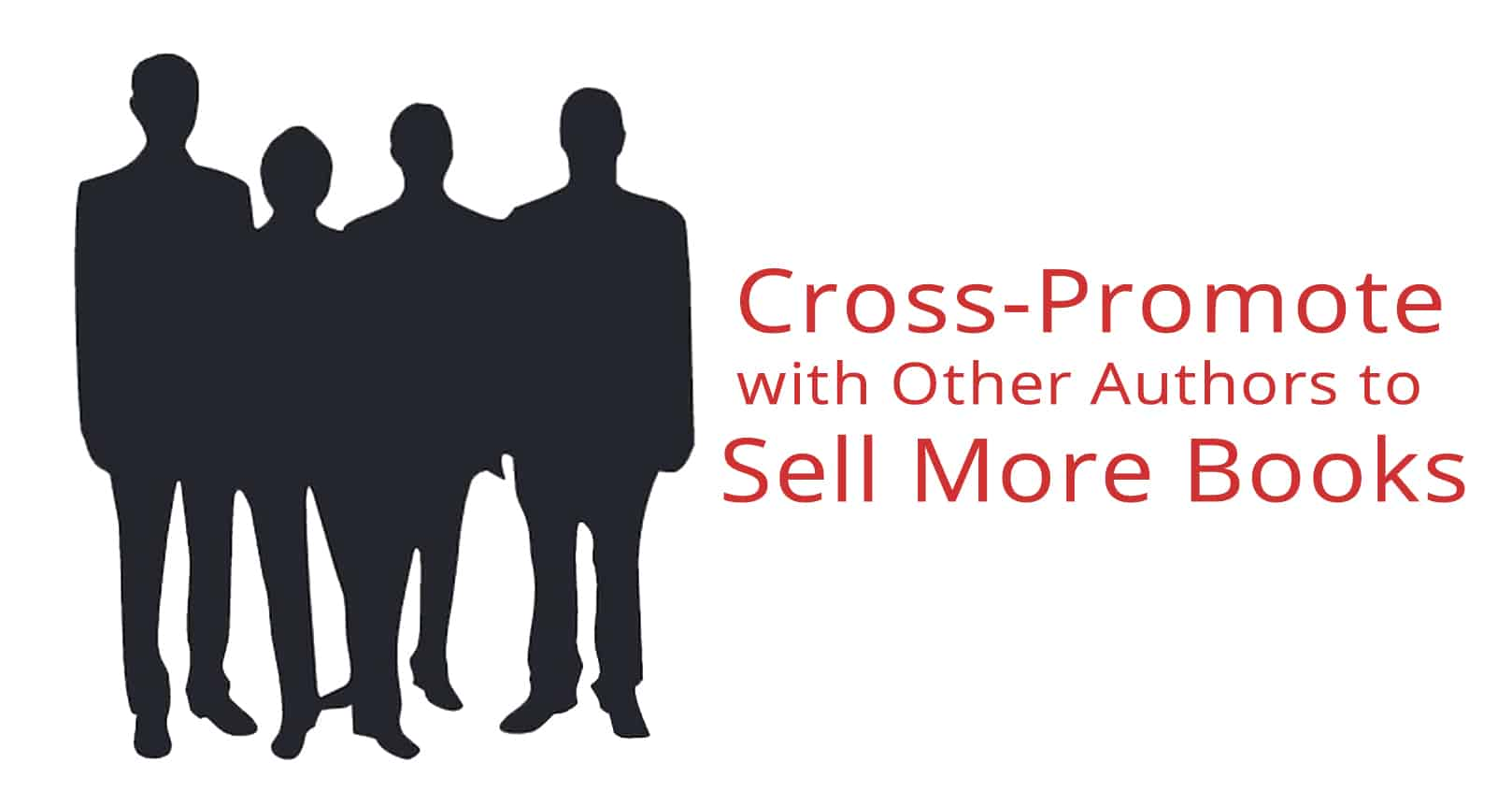 cross-promote with other authors