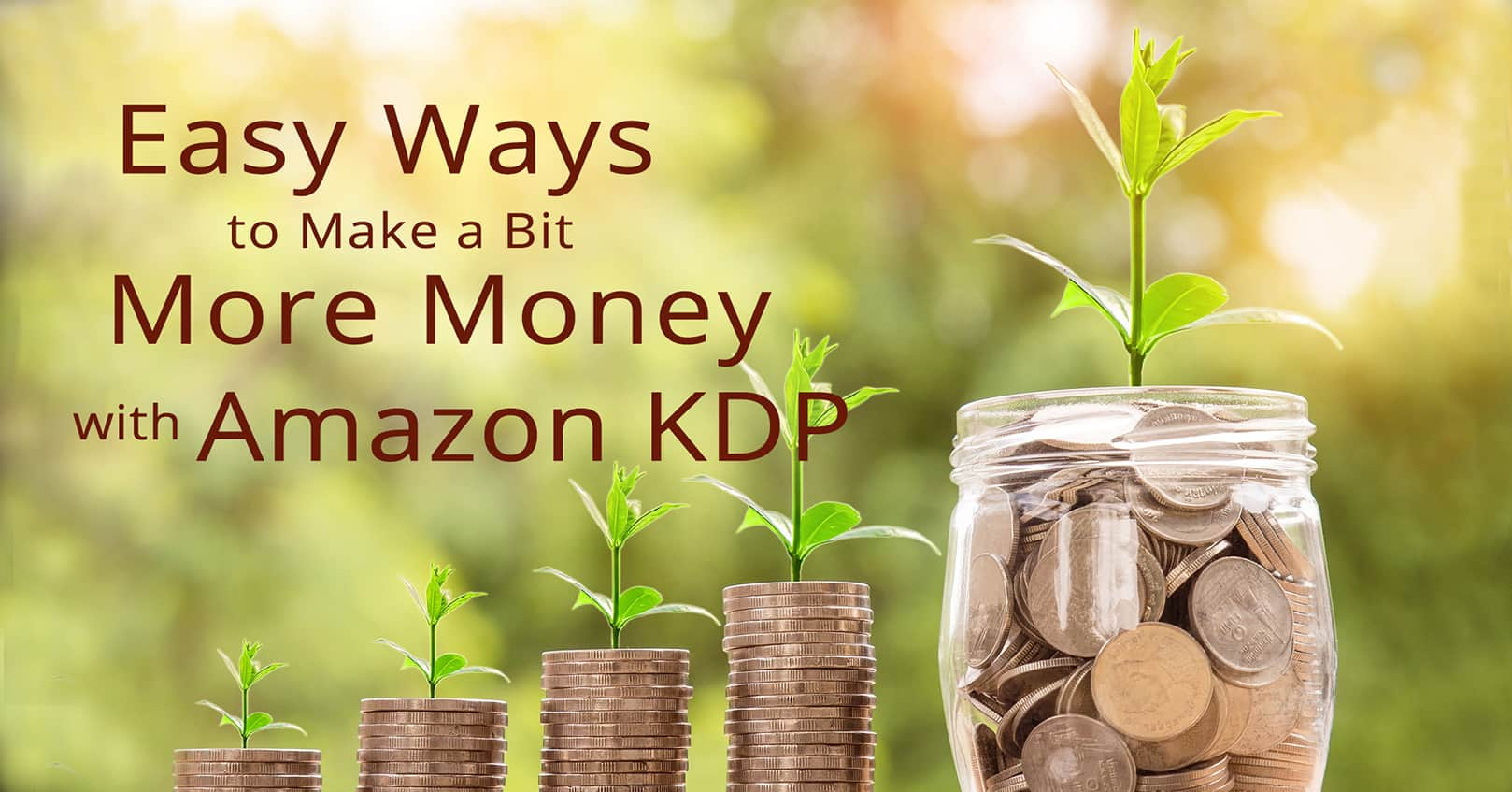 money with amazon KDP