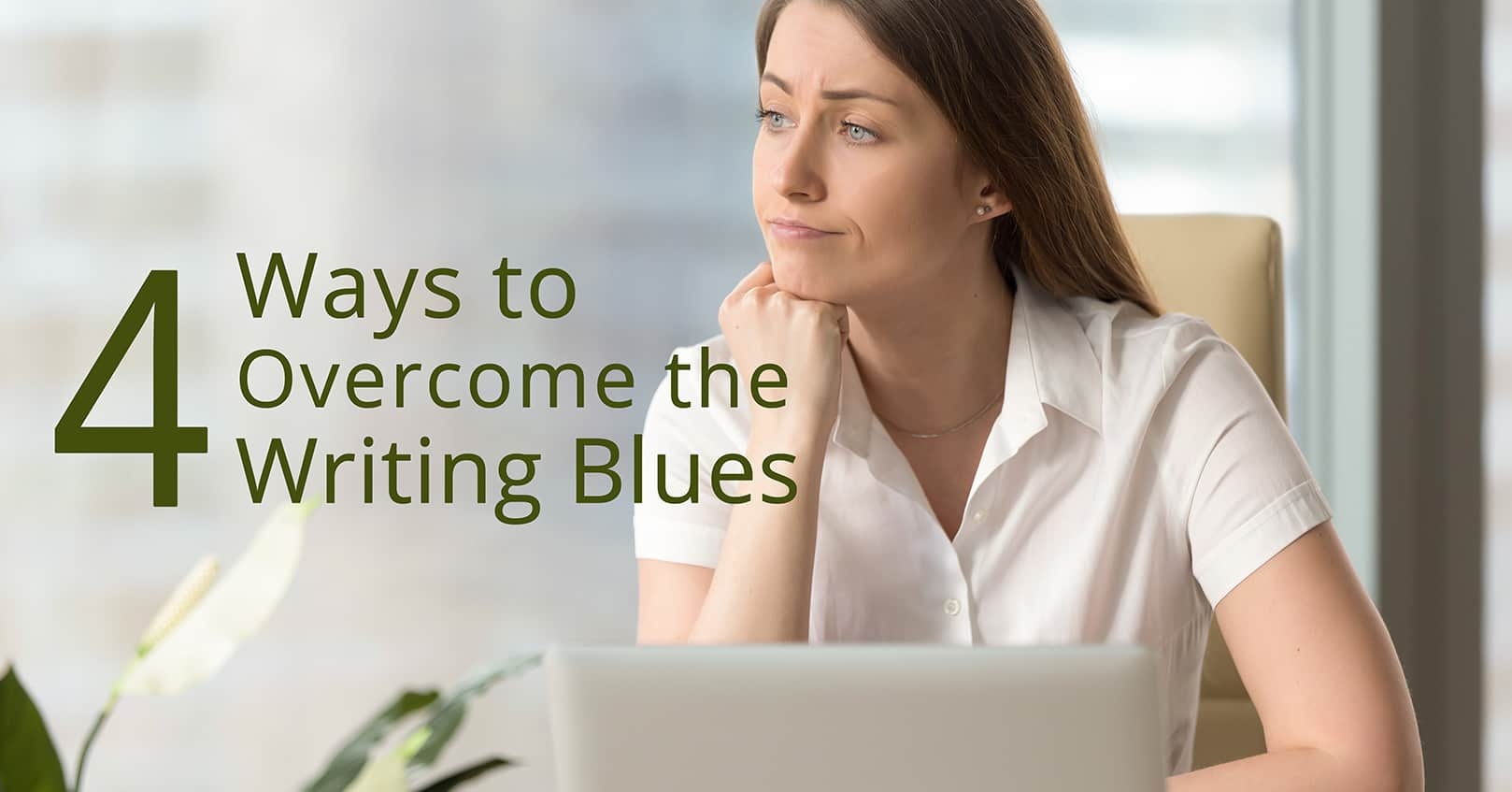 overcoming the writing blues
