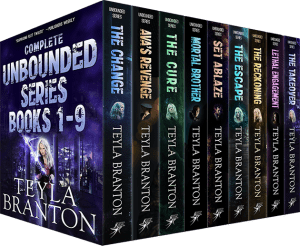 Cover for Complete Unbounded Series