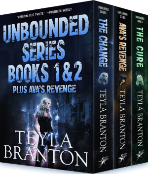 Cover for Unbounded Series books 1 & 2 plus Ava's Revenge