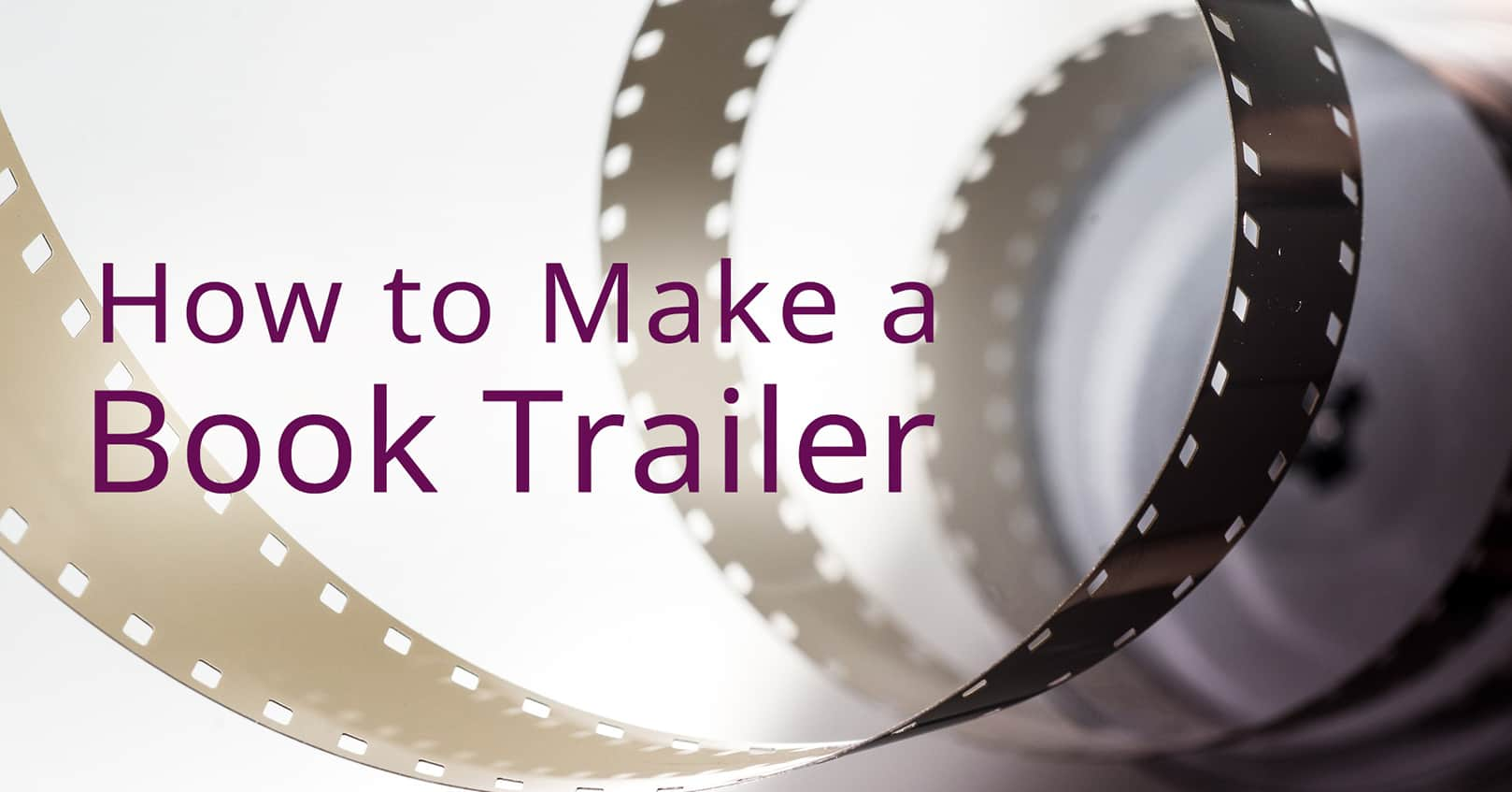 make a book trailer