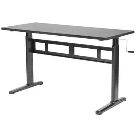 VIVO Manual Sit-Stand Desk