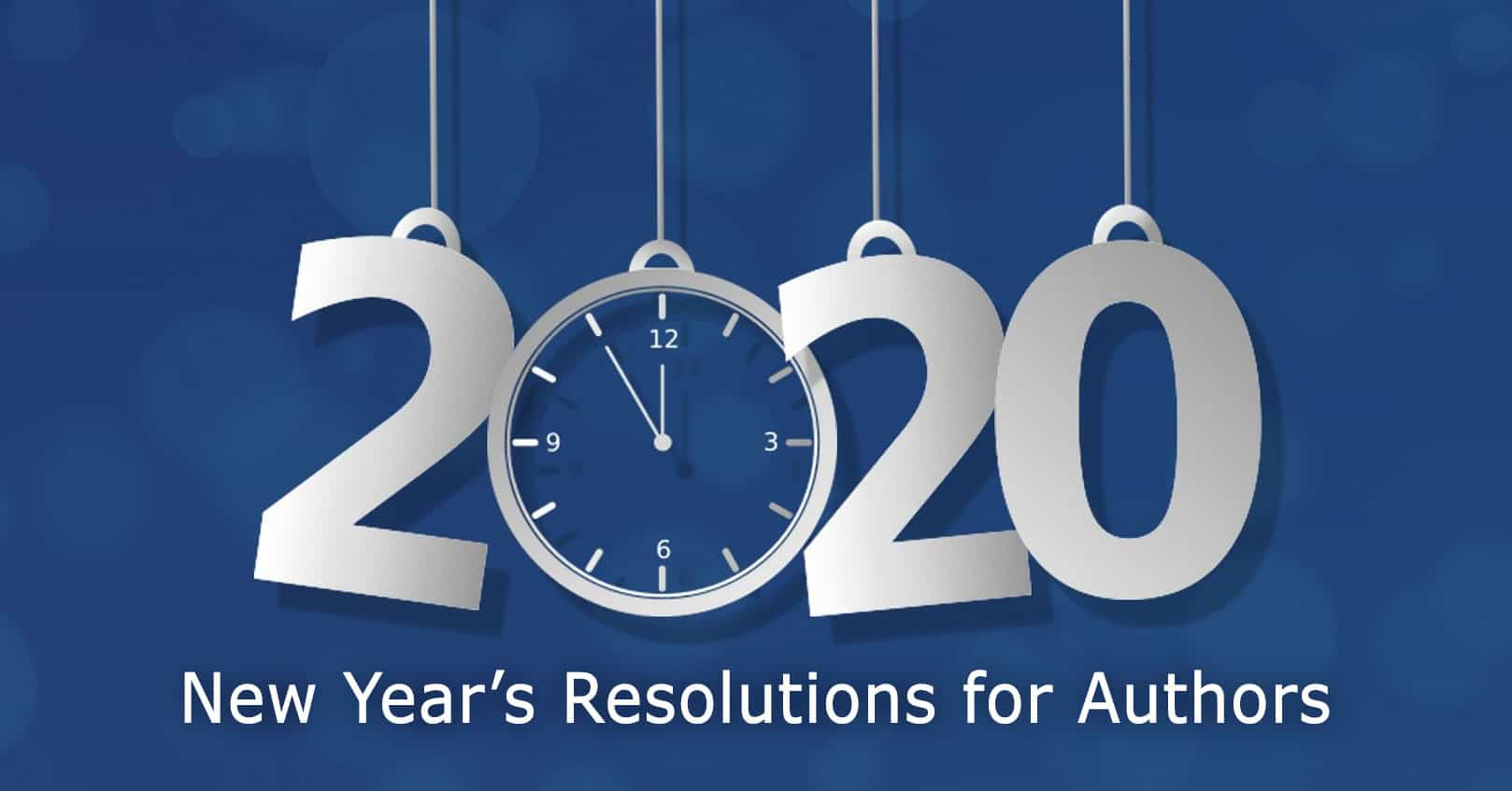 New Year's Resolutions for Authors