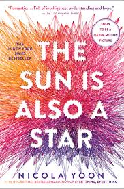 books becoming movies in 2019 - The Sun is Also a Star