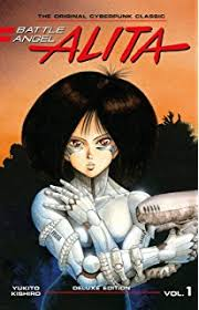 books becoming movies in 2019 - Battle Angel Alita
