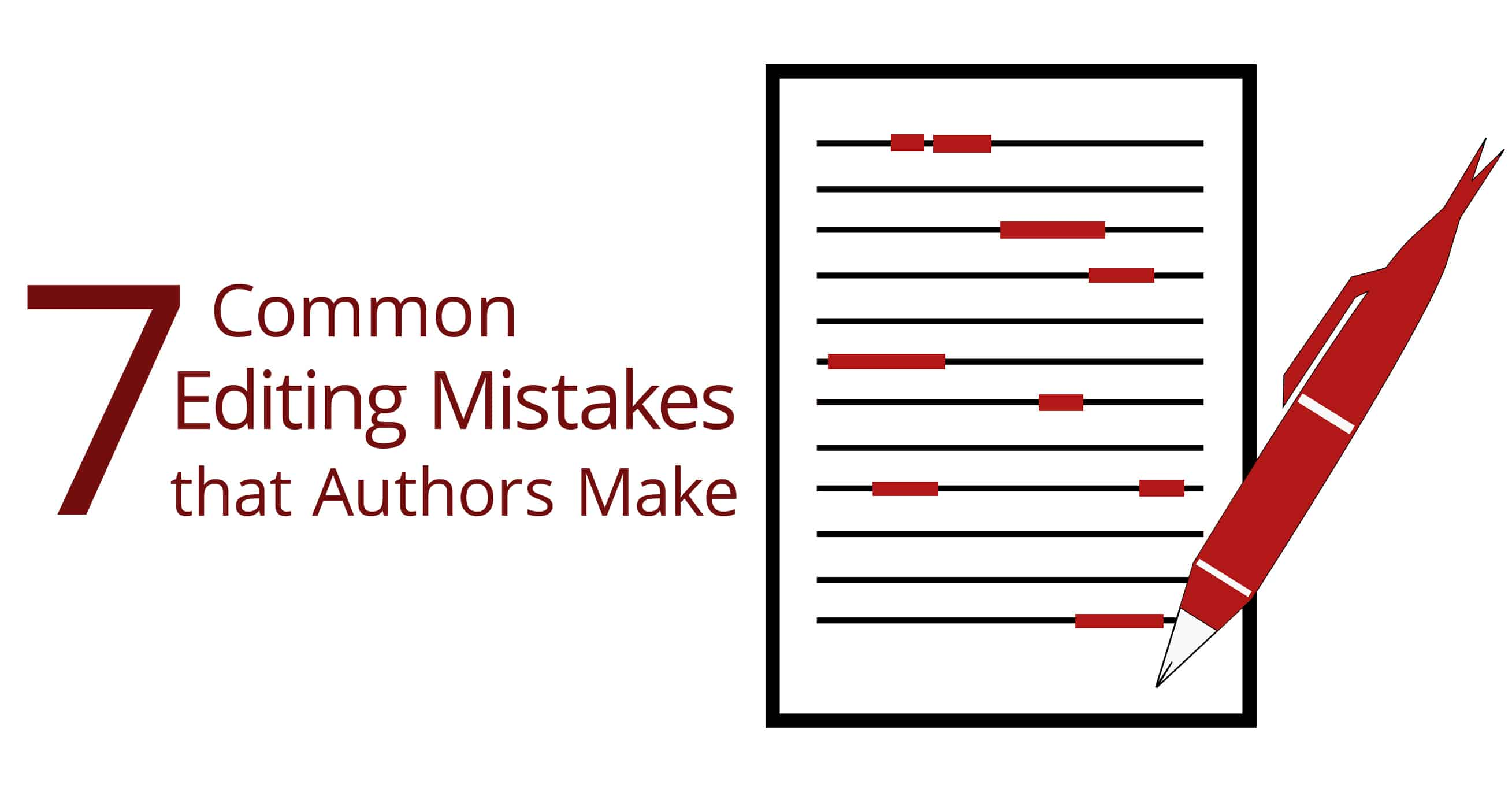 editing mistakes that authors make