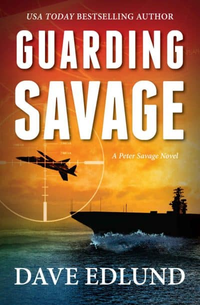 Cover for Guarding Savage