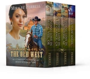 Cover for Finding Love in the Old West Boxed Set