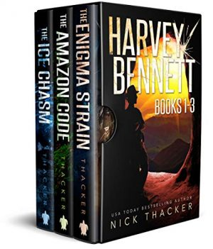 Cover for Harvey Bennett Mysteries